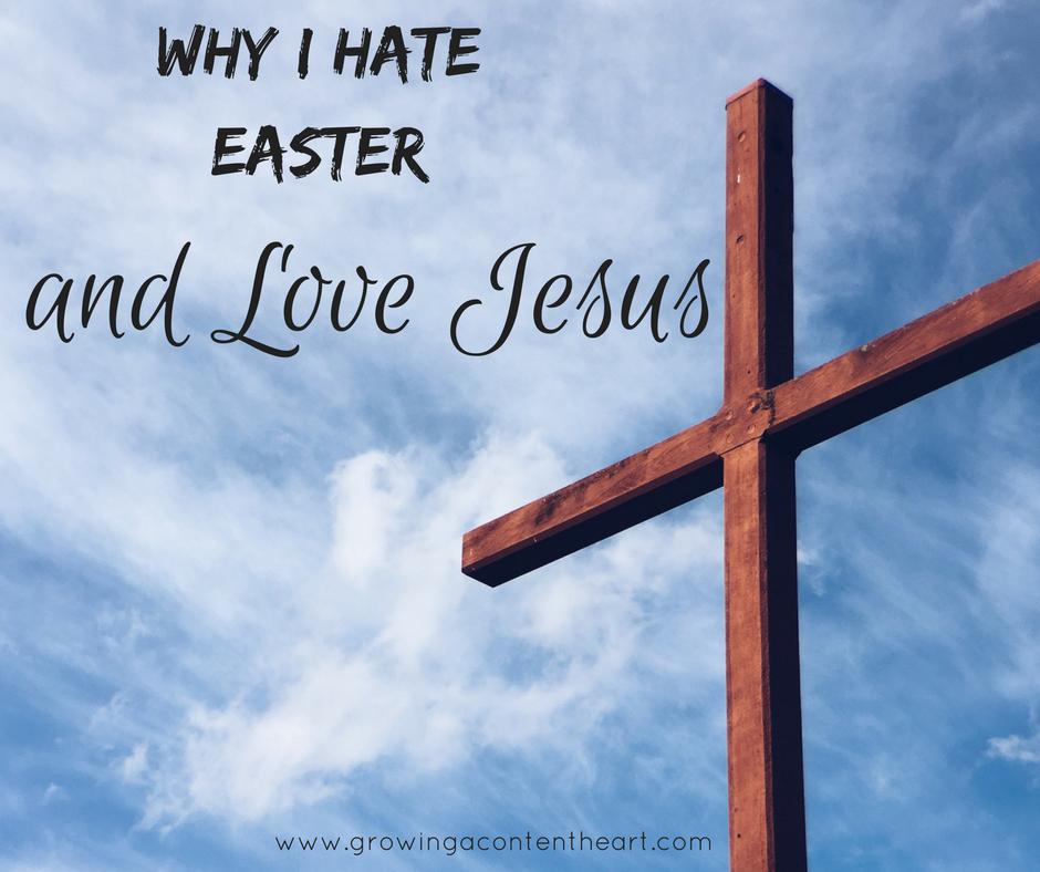 Hate Easter Love Jesus