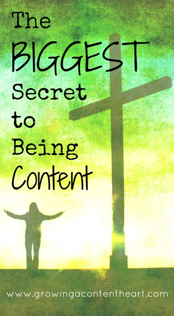 The BIGGEST Secret to Being Content